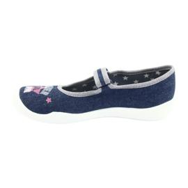 Încălțăminte pentru copii Befado 114Y369 albastru marin albastru gri multicolor 3