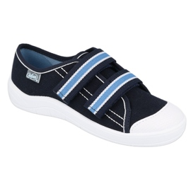 Încălțăminte pentru copii Befado 672Y049 albastru marin albastru 1