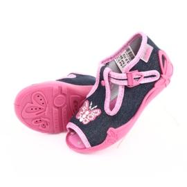 Încălțăminte pentru copii Befado 213P112 roz gri multicolor 6