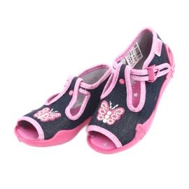 Încălțăminte pentru copii Befado 213P112 roz gri multicolor 4