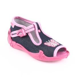 Încălțăminte pentru copii Befado 213P112 roz gri multicolor 2