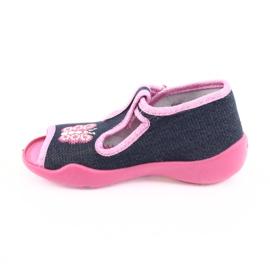 Încălțăminte pentru copii Befado 213P112 roz gri multicolor 3