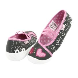 Încălțăminte pentru copii Befado 116X257 roz gri 5