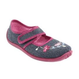 Încălțăminte pentru copii Befado 945Y289 albastru marin multicolor roz 1