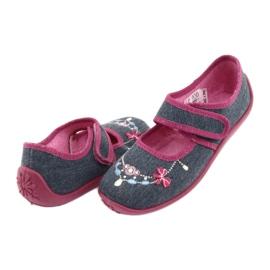 Încălțăminte pentru copii Befado 945Y289 albastru marin multicolor roz 3