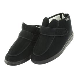 Befado femei pantofi pu orto 987D002 negru 4