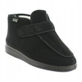 Befado femei pantofi pu orto 987D002 negru 2