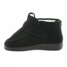 Befado femei pantofi pu orto 987D002 negru 3
