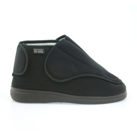 Befado bărbați pantofi pu orto 163M002 negru 1