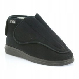 Befado bărbați pantofi pu orto 163M002 negru 2