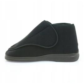 Befado bărbați pantofi pu orto 163M002 negru 3