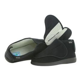 Befado bărbați pantofi pu orto 163M002 negru 4