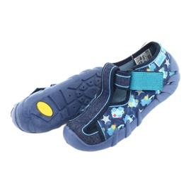 Încălțăminte pentru copii Befado 190P090 albastru marin albastru 5