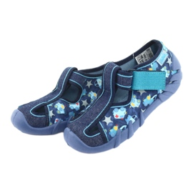 Încălțăminte pentru copii Befado 190P090 albastru marin albastru 4