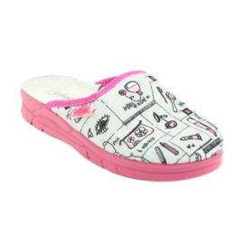 Încălțăminte pentru copii Befado 708X002 roz gri 1