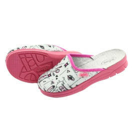 Încălțăminte pentru copii Befado 708X002 roz gri 4