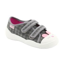 Încălțăminte pentru copii Befado 907P108 roz gri 2