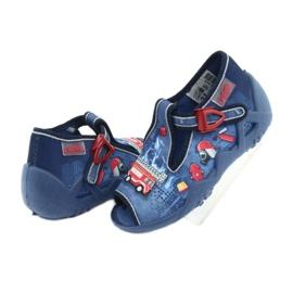 Încălțăminte pentru copii Befado 217P101 roșu albastru marin albastru 6
