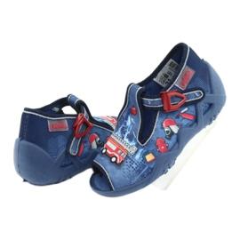 Încălțăminte pentru copii Befado 217P101 roșu albastru marin albastru 4