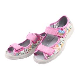 Pantofi pentru copii Befado 969X142 roz multicolor 4
