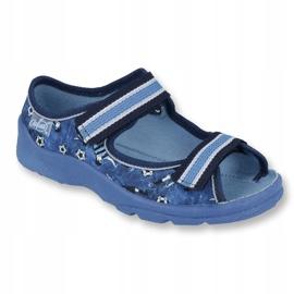 Pantofi pentru copii Befado 969X141 albastru marin albastru 1