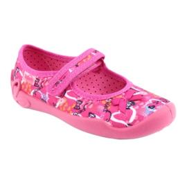 Încălțăminte pentru copii Befado 114X358 roz multicolor 2
