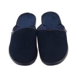 Pantofi pentru tineret Befado 201Q033 albastru marin 5