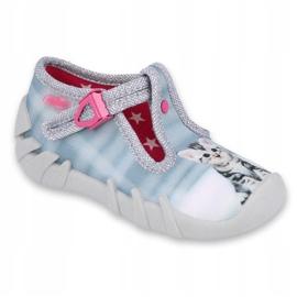 Încălțăminte pentru copii Befado 110P365 roz gri multicolor 1