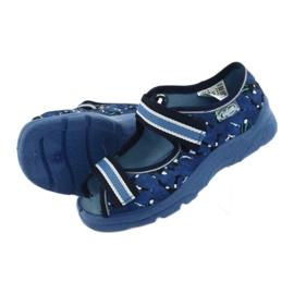 Pantofi pentru copii Befado 969X141 albastru marin albastru 6