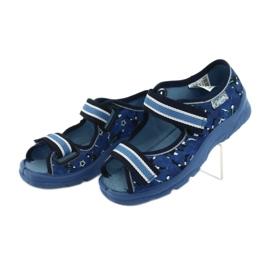 Pantofi pentru copii Befado 969X141 albastru marin albastru 4