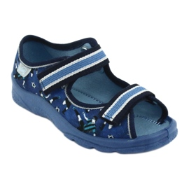 Pantofi pentru copii Befado 969X141 albastru marin albastru 2