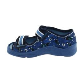 Pantofi pentru copii Befado 969X141 albastru marin albastru 3