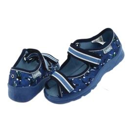 Pantofi pentru copii Befado 969X141 albastru marin albastru 5