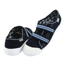 Încălțăminte pentru copii Befado 672Y049 albastru marin albastru 5