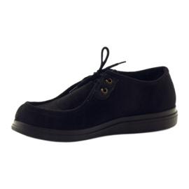 Befado femei pantofi pu 871D004 negru 4