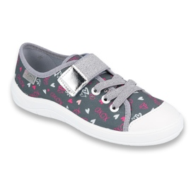 Încălțăminte pentru copii Befado 251X138 roz gri multicolor 1