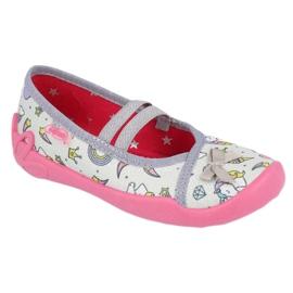 Încălțăminte pentru copii Befado 116X266 maro roz gri multicolor 1