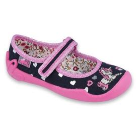 Încălțăminte pentru copii Befado 114X355 negru roz multicolor 1
