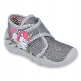 Încălțăminte pentru copii Befado 523P016 roz argint gri 1