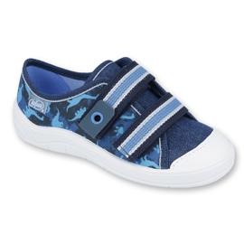 Încălțăminte pentru copii Befado 672X066 albastru marin albastru 1