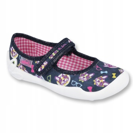 Încălțăminte pentru copii Befado 114Y359 albastru marin roz multicolor 1