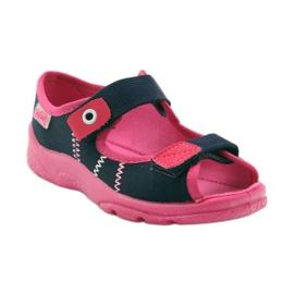 Încălțăminte pentru copii Befado 969Y105 albastru marin roz 2