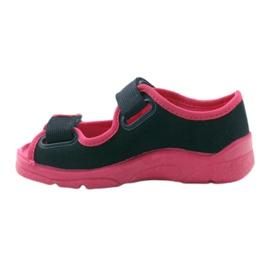 Încălțăminte pentru copii Befado 969Y105 albastru marin roz 3