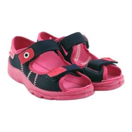 Încălțăminte pentru copii Befado 969Y105 albastru marin roz 5