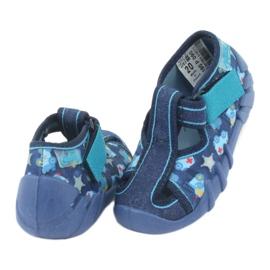 Sandale pentru copii Befado 190P090 albastru marin albastru 4