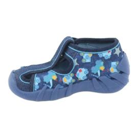 Sandale pentru copii Befado 190P090 albastru marin albastru 2