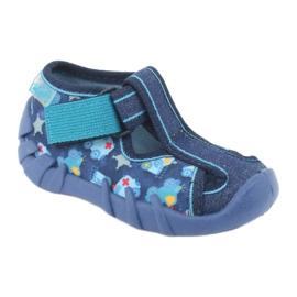 Sandale pentru copii Befado 190P090 albastru marin albastru 1