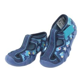 Sandale pentru copii Befado 190P090 albastru marin albastru 3