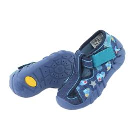 Sandale pentru copii Befado 190P090 albastru marin albastru 5