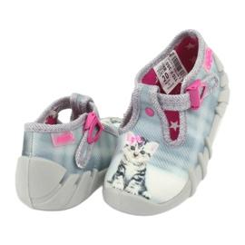 Încălțăminte pentru copii Kado Befado 110P365 roz gri 3